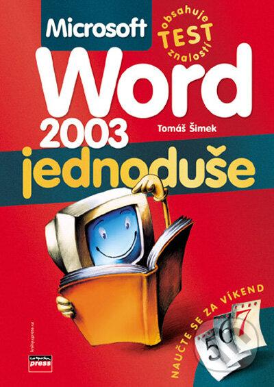 Microsoft Word 2003 - Tomáš Šimek