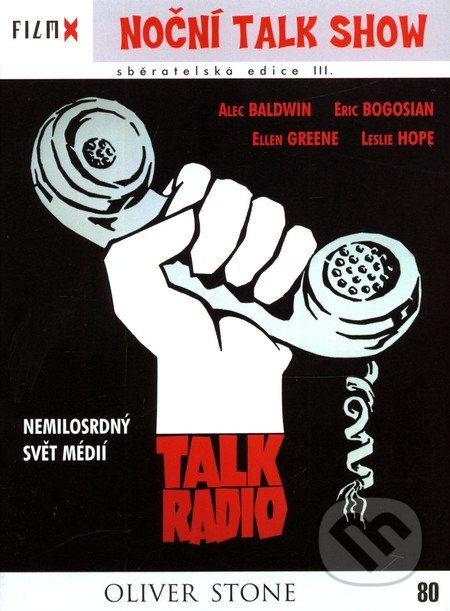 Talk Radio Film X DVD