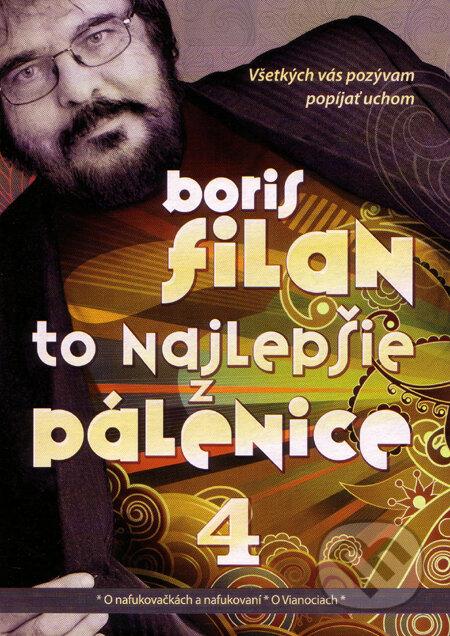 To najlepšie z Pálenice 4 - Audio CD - Boris Filan
