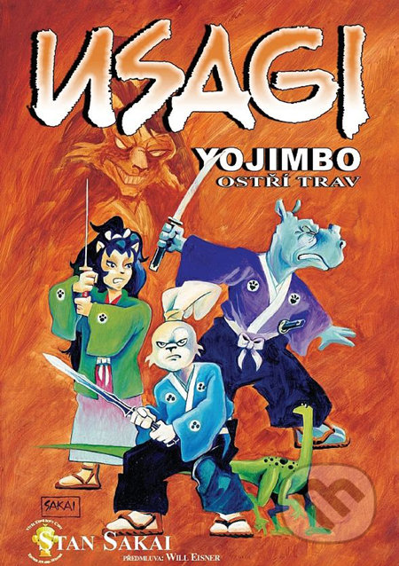 Usagi Yojimbo 12: Ostří trav - Stan Sakai