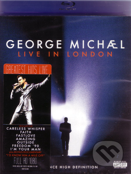 George Michael - Live In London BLU-RAY
