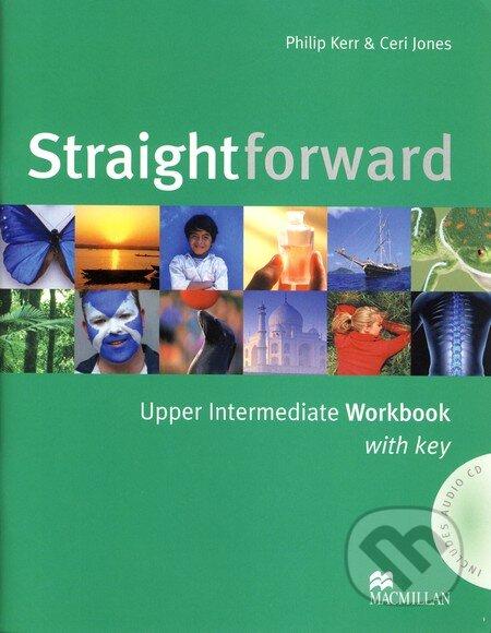 Straightforward - Upper Intermediate - Workbook with Key - Philip Kerr, Ceri Jones