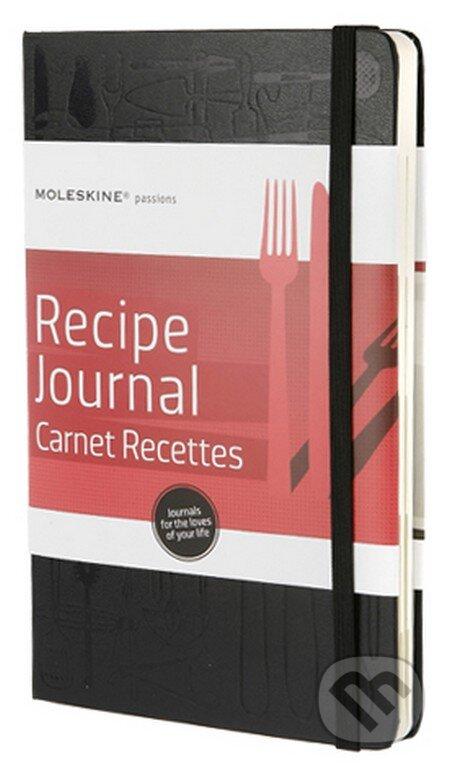 Moleskine Passions - stredný zápisník na recepty -