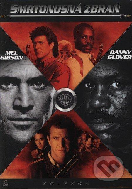 Smrtonosná zbraň - Kolekcia 4 DVD DVD