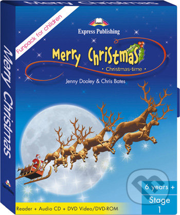 Merry Christmas (Reader, Audio CD, DVD video/DVD-ROM) -