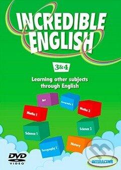 Incredible English 3 & 4: DVD - Sarah Phillips