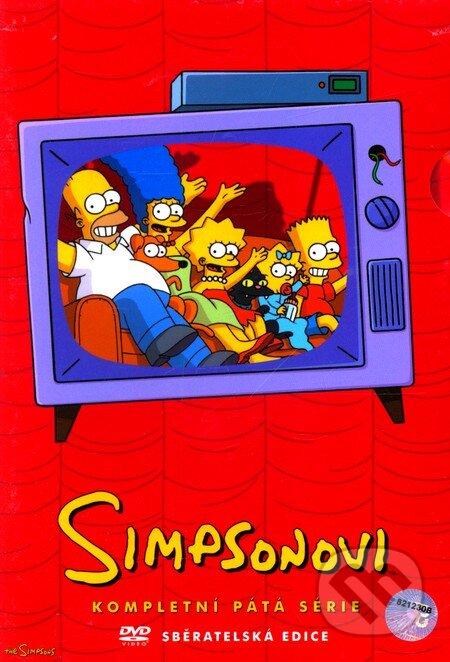 Simpsonovci - 5. séria (seriál) DVD