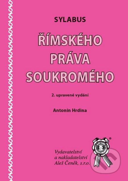 Sylabus římského práva soukromého - Náhled učebnice