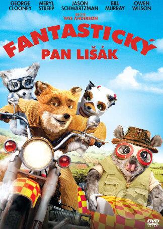 Fantastický pán Lišiak DVD