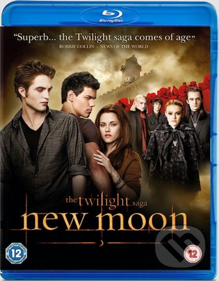 Twilight sága: Nov (New Moon) BLU-RAY