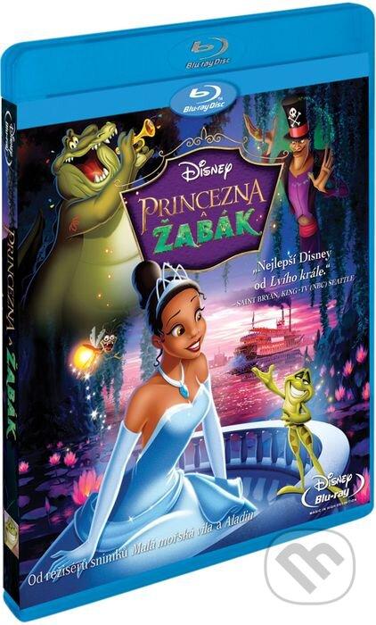 Princezná a žaba BLU-RAY
