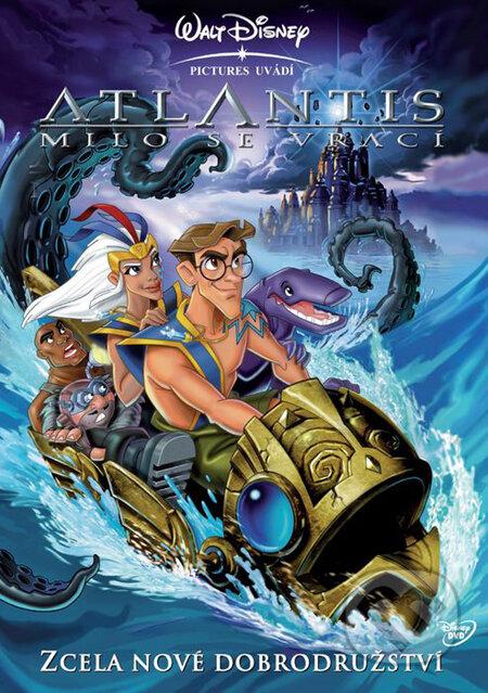 Atlantis: Milo se vrací DVD