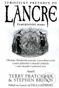 Turistický průvodce po Lancre - Zeměplošská mapa - Terry Pratchett, Stephen Briggsem