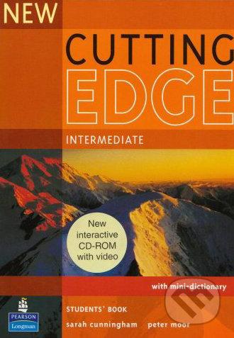 New Cutting Edge - Intermediate: Student\'s Book with CD-ROM - Sarah Cunningham, Peter Moor