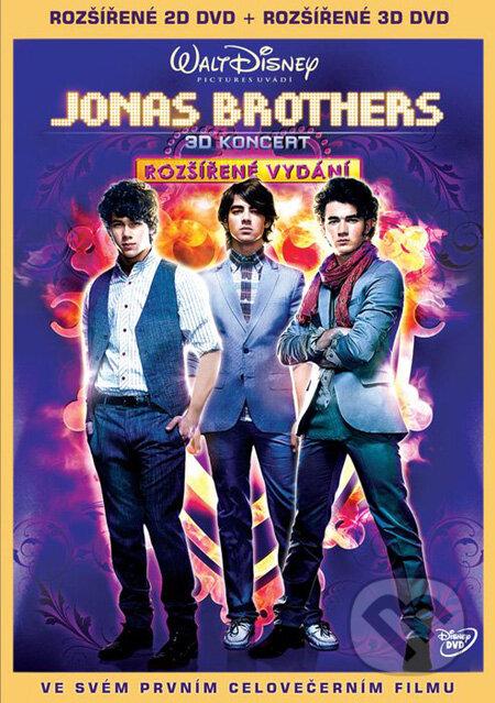 Jonas Brothers: 3D Koncert DVD