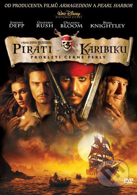 Piráti z Karibiku 1: Prekliatie Čiernej perly DVD