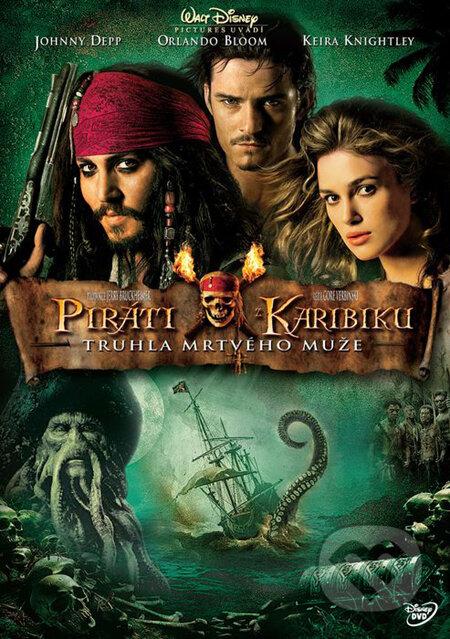 Piráti z Karibiku 2: Truhlica mŕtveho muža DVD