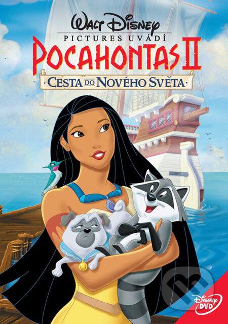 Pocahontas 2: Cesta do nového sveta DVD