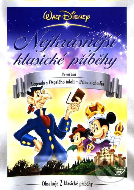 Disney: Najkrajšie klasické príbehy 1 DVD