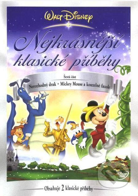 Disney: Najkrajšie klasické príbehy 6 DVD