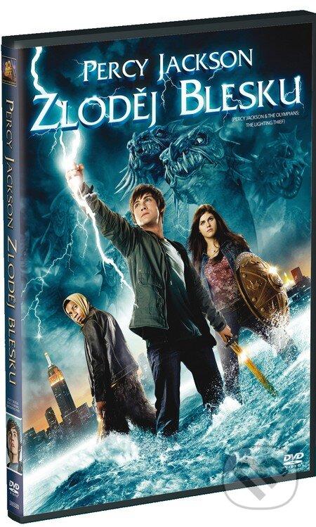 Percy Jackson: Zlodej blesku DVD