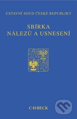 Sbírka nálezů a usnesení 51 (bez CD) -