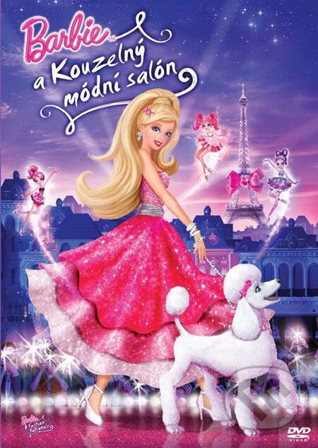 Barbie a kúzelný módny salón DVD