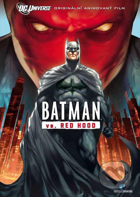 Batman vs. Red Hood DVD