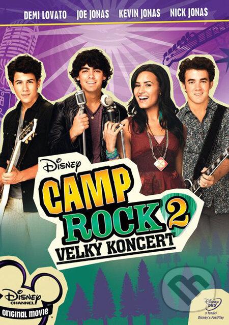 Camp Rock 2: Veľký koncert DVD