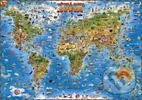 Mapa světa pro děti -