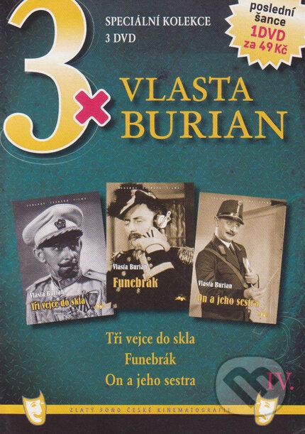 3x Vlasta Burian IV. DVD