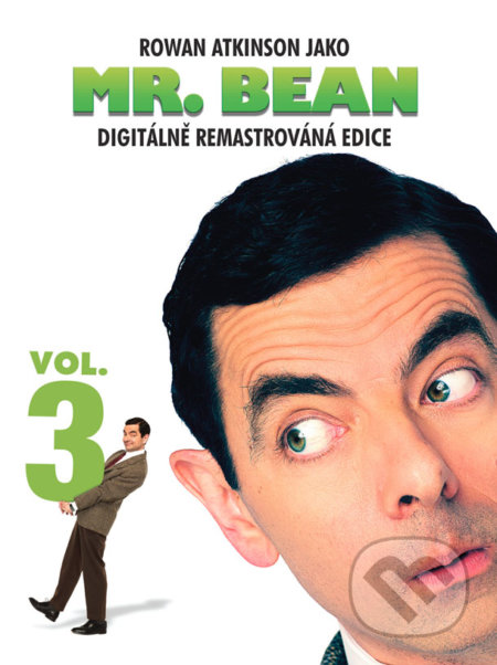 Mr. Bean 3 - Digitálně remastrovaná edice DVD