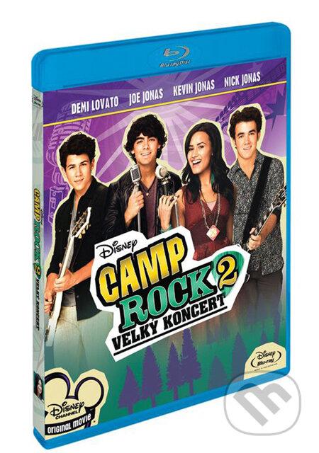 Camp Rock 2: Velký koncert BLU-RAY