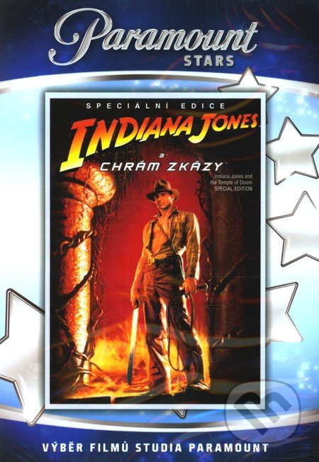 Indiana Jones a chrám zkázy DVD