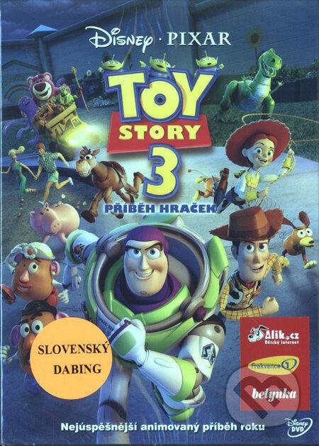 Toy Story 3: Príbeh hračiek DVD