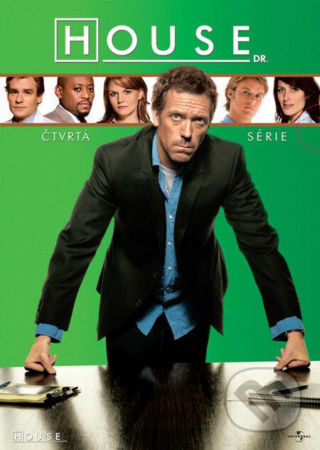 Dr. House 4. séria DVD