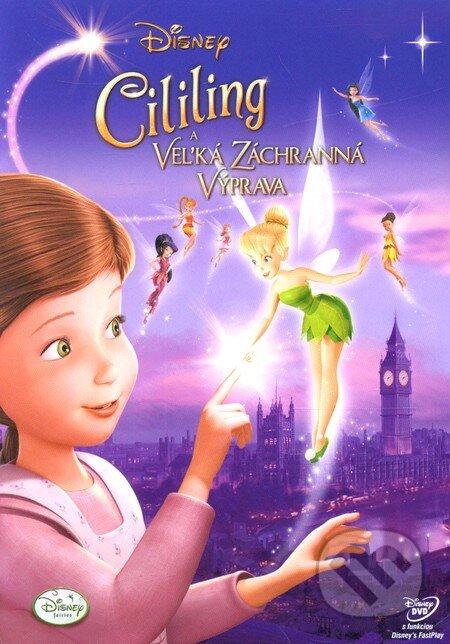 Cililing a veľká záchranná výprava DVD