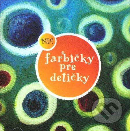Farbičky pre detičky (CD) -