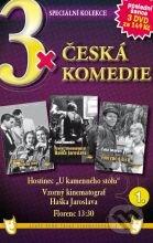 3x Česká komedie I DVD