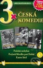 3x Česká komedie IV DVD