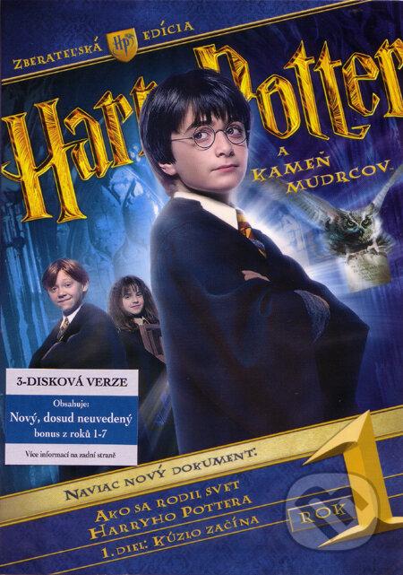Harry Potter a kámen mudrců - 3 DVD DVD