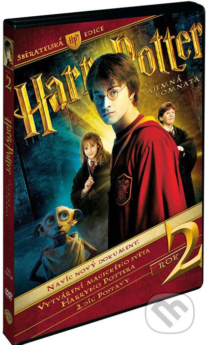 Harry Potter a tajemná komnata - 3 DVD DVD