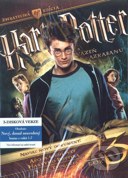 Harry Potter a väzeň z Azkabanu - 3 DVD DVD