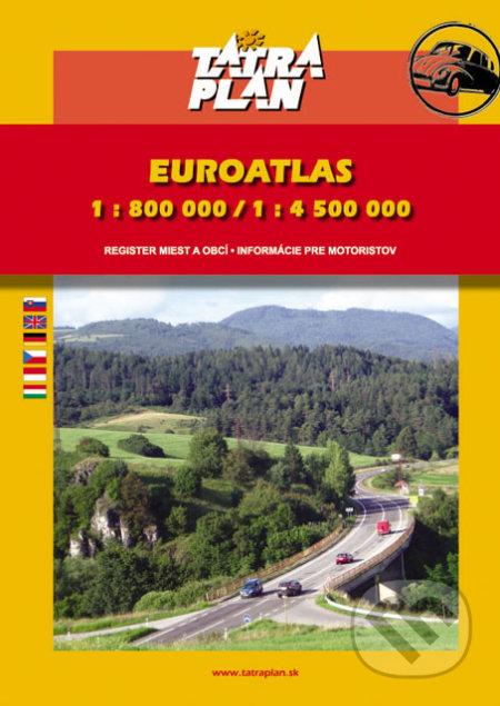 Autoatlas Európa 1:800 000 /1:4 500 000 -