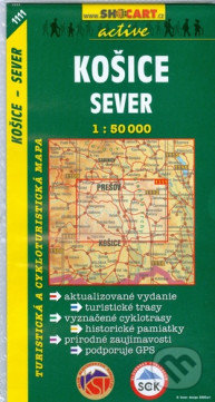 Košice - Sever 1:50 000 -