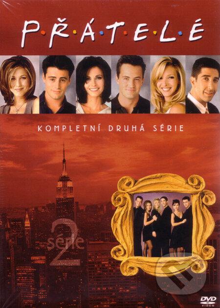 Přátelé - 2. série DVD