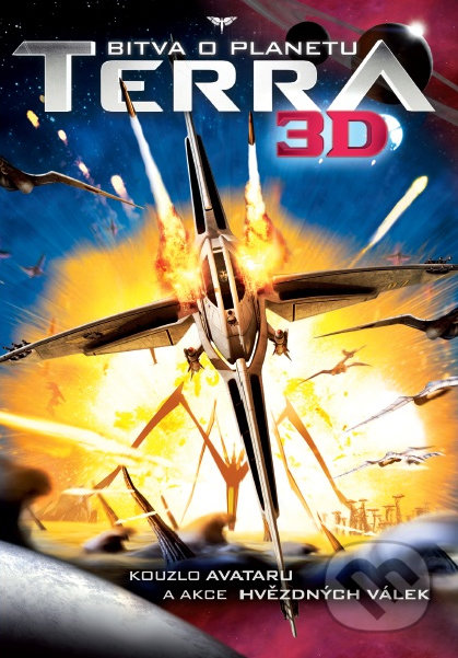 Bitva o planetu Terra (3D verzia) DVD
