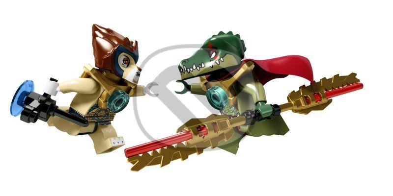 Tweet lego chima 70006 craggerov krokodílí čln hračka lego