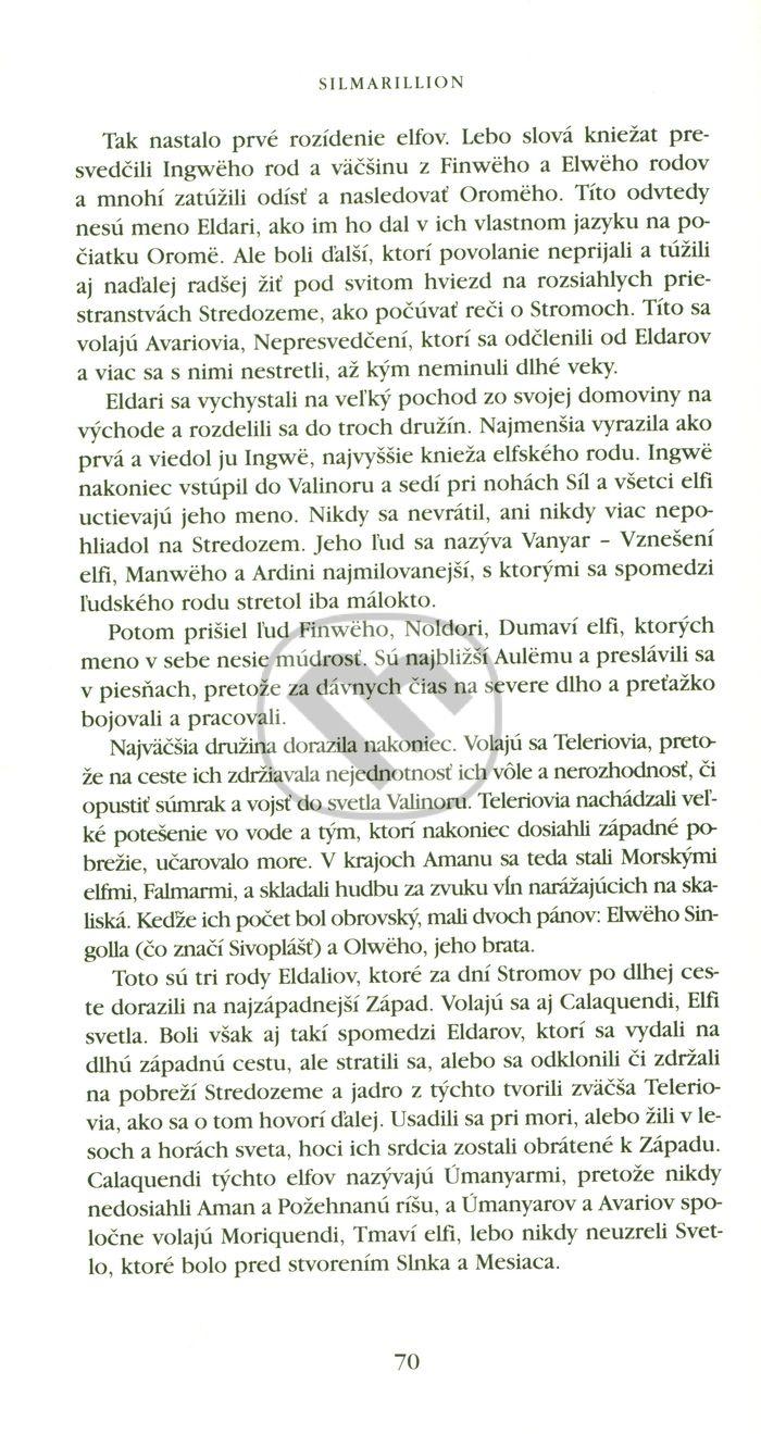 Silmarillion cz